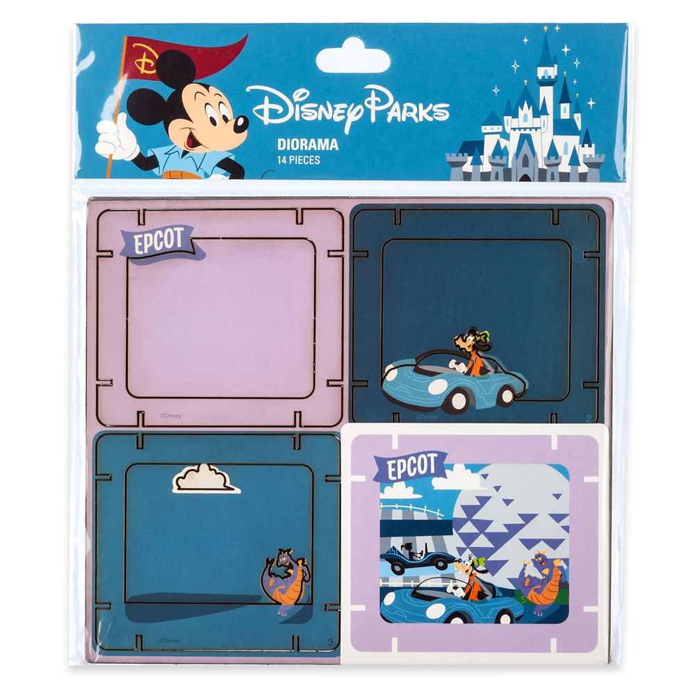Mickey Mouse and Friends Diorama Kit – Epcot