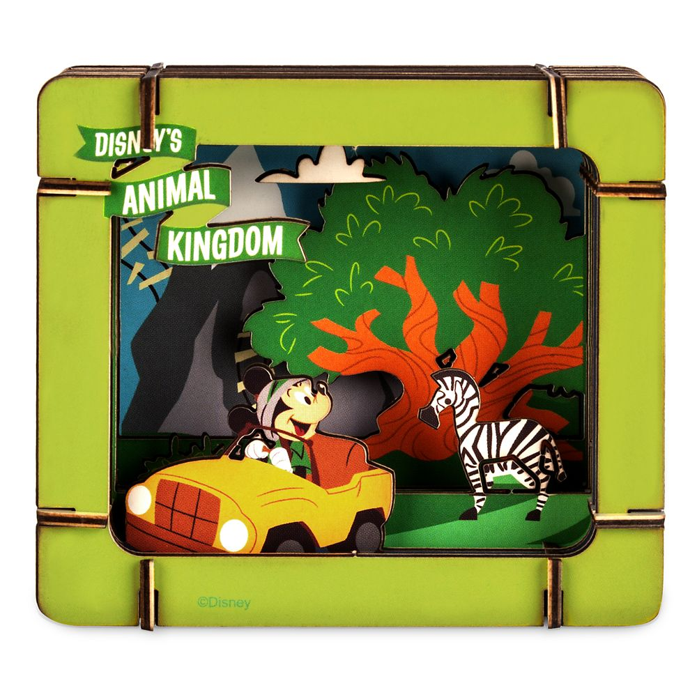 Mickey Mouse and Friends Diorama Kit – Disney's Animal Kingdom