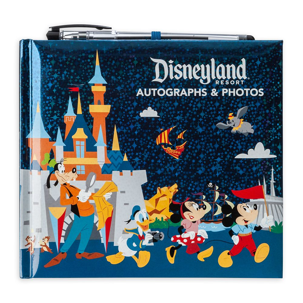 Mickey Mouse and Friends Autograph & Photo Album with Pen – Disneyland