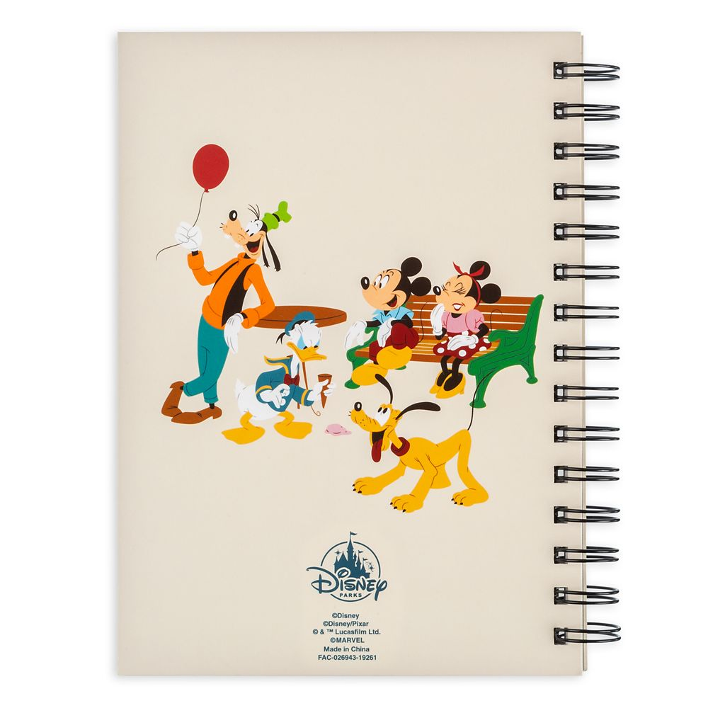 Mickey Mouse and Friends Travel Journal – Disneyland