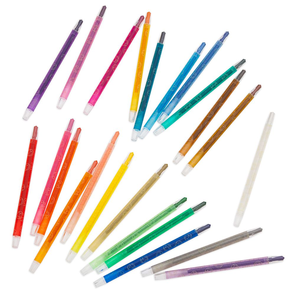 The World of Pixar Twist-Up Crayon Set