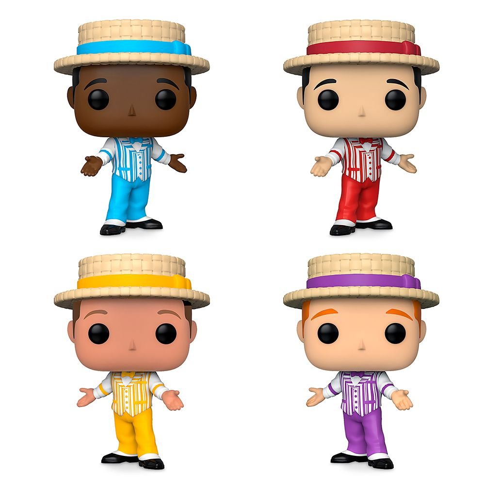 The Dapper Dans Pop! Vinyl Figure Set by Funko – Main Street U.S.A. – Limited Release
