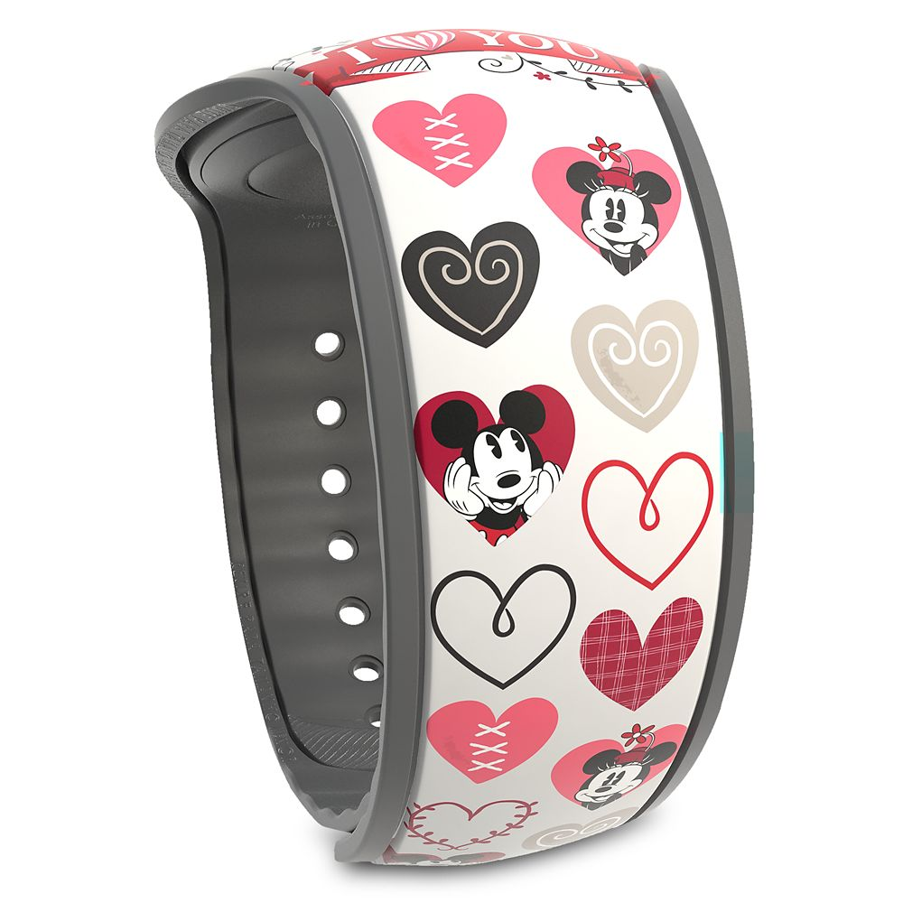 Mickey and Minnie Mouse Valentine's Day MagicBand 2 – Limited Edition