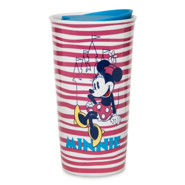 Minnie Mouse Ceramic Travel Tumbler
