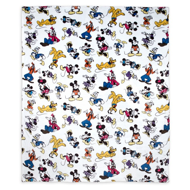 Mickey Mouse and Friends Fleece Throw Blanket