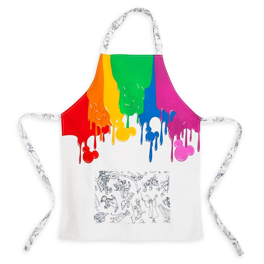 Disney Ink & Paint Apron for Youth