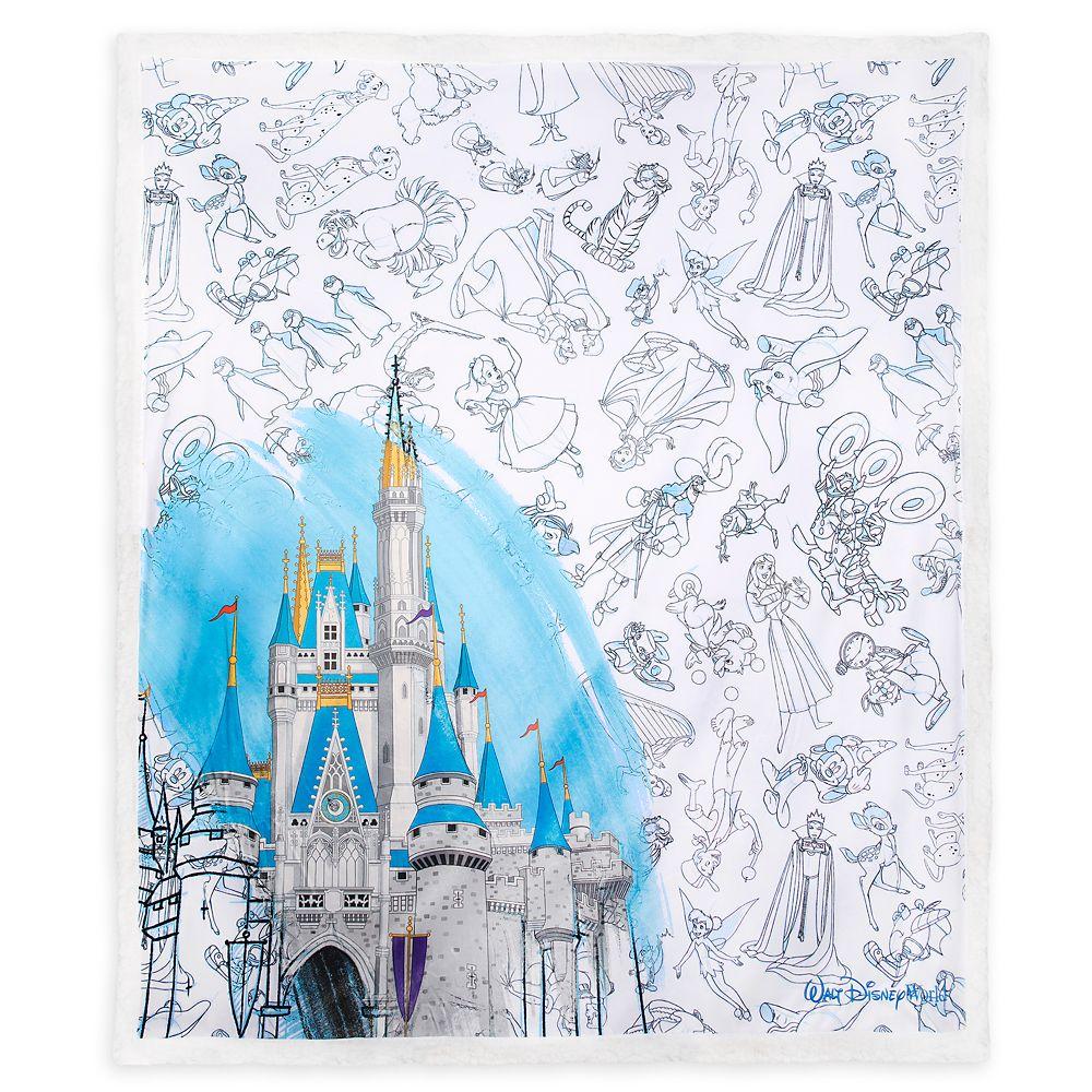 Disney Ink & Paint Throw – Walt Disney World