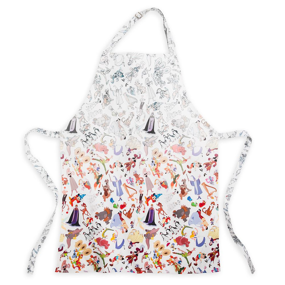 Disney Ink & Paint Apron for Adults