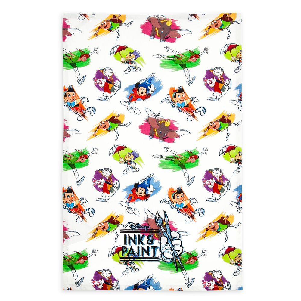 Disney Ink & Paint Kitchen Towel Set