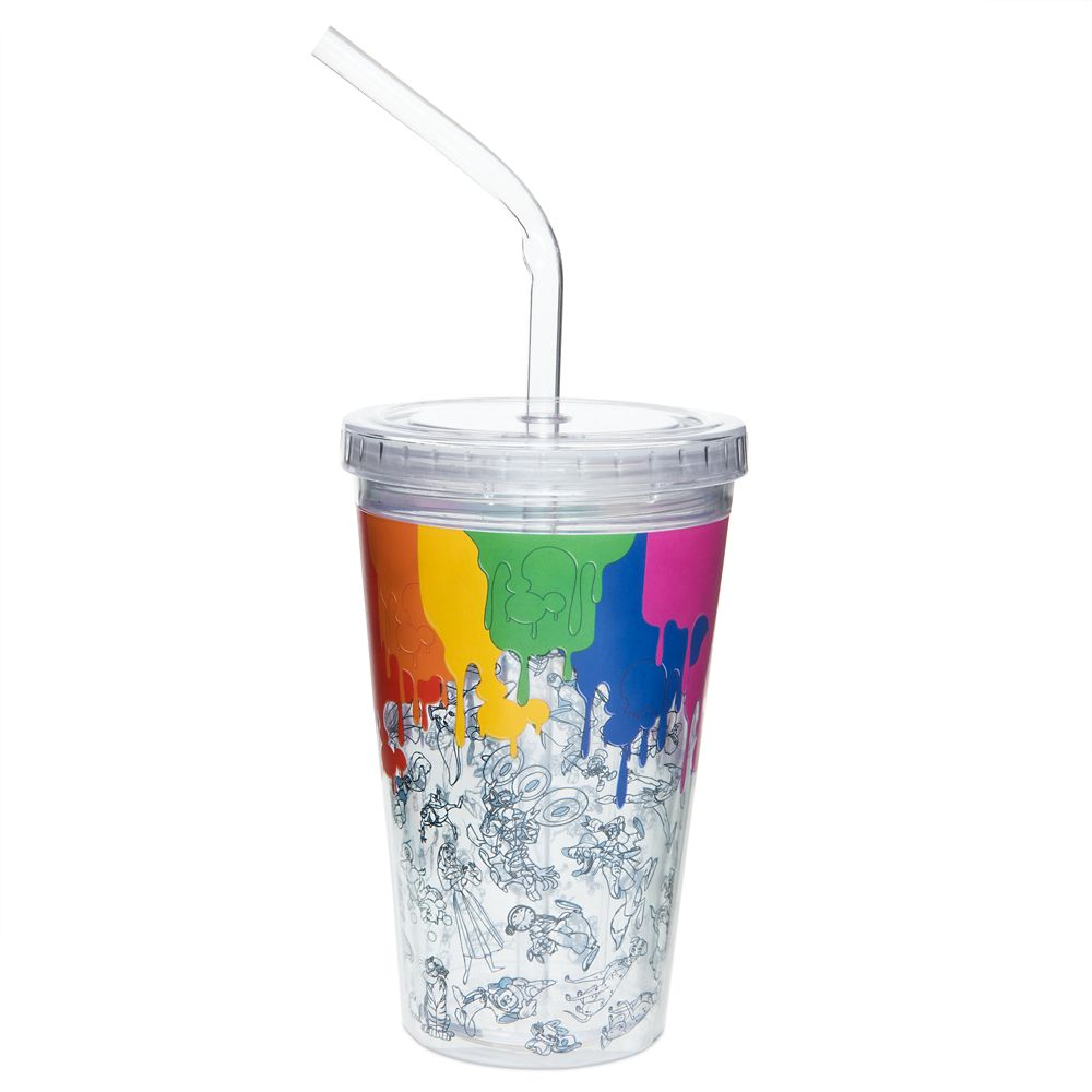Disney Ink & Paint Tumbler with Straw – Small