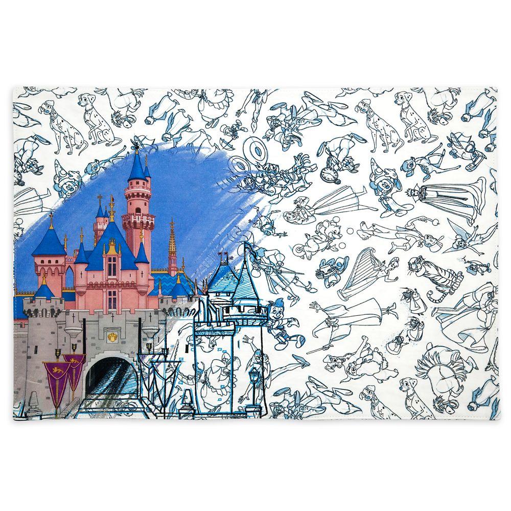 Disney Ink & Paint Reversible Placemat – Disneyland