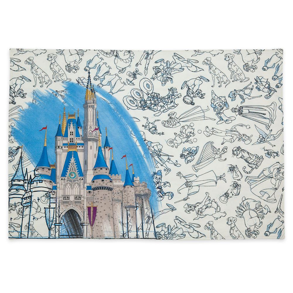 Disney Ink & Paint Reversible Placemat – Walt Disney World