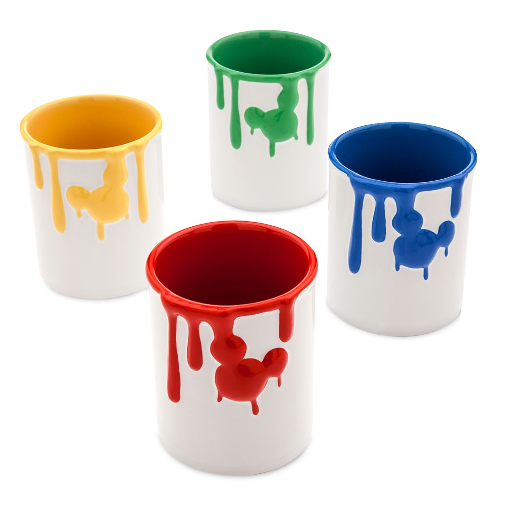 Disney Ink & Paint Ceramic Jar Set