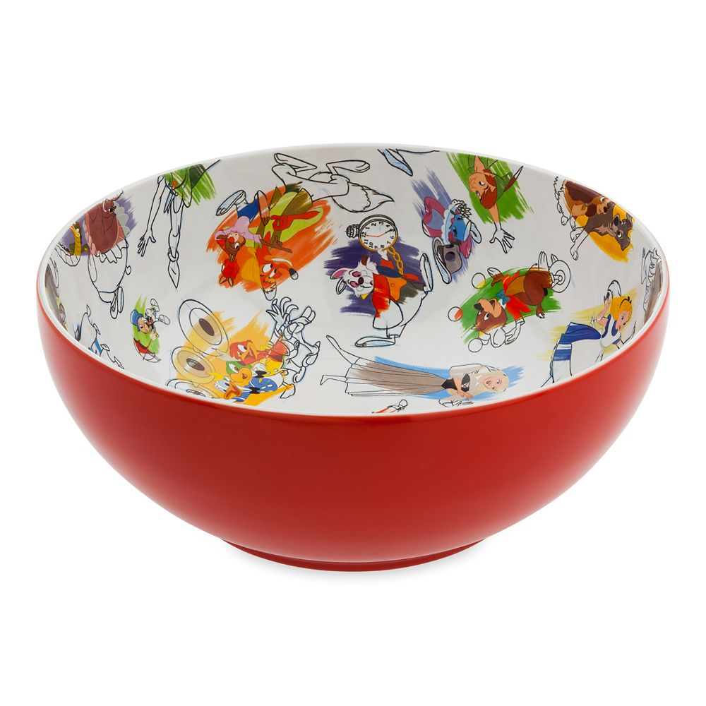 Disney Ink & Paint Ceramic Serving Bowl