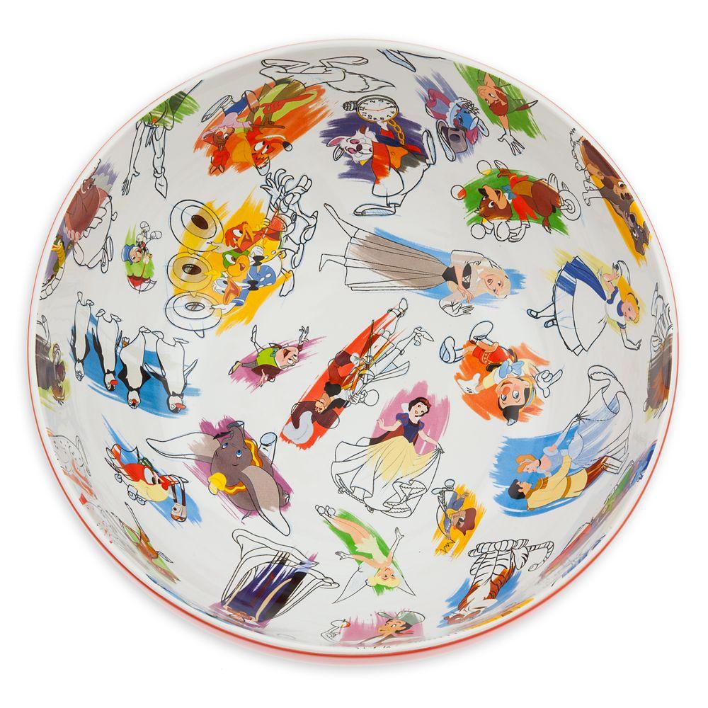Disney Ink & Paint Ceramic Serving Bowl
