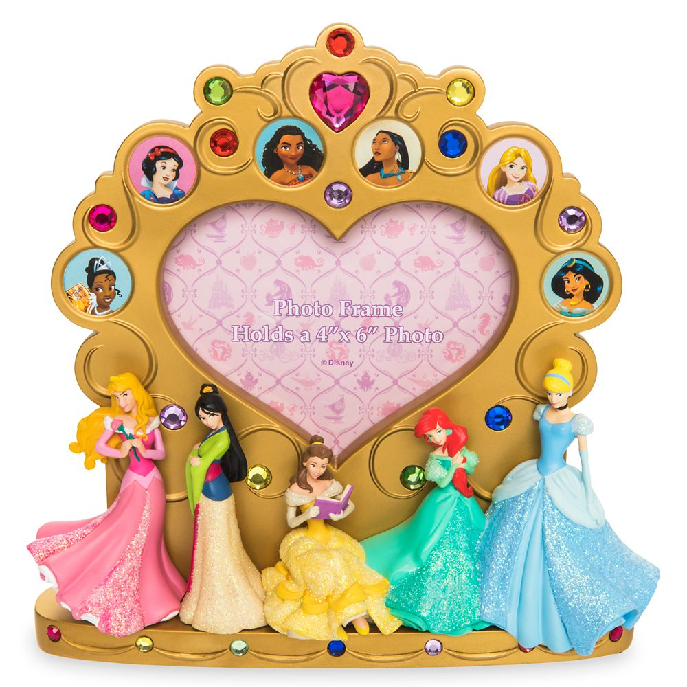 Disney Princess Photo Frame – 4'' x 6''
