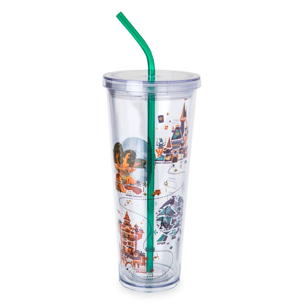 Walt Disney World Tumbler with Straw by Starbucks  Large
