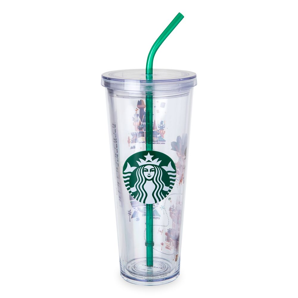 Walt Disney World Tumbler with Straw by Starbucks – Large