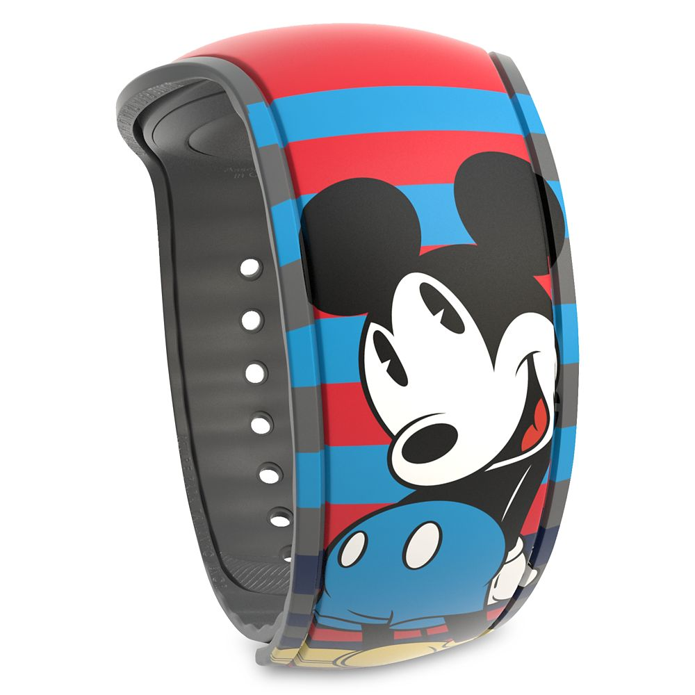 Mickey Mouse Striped MagicBand 2