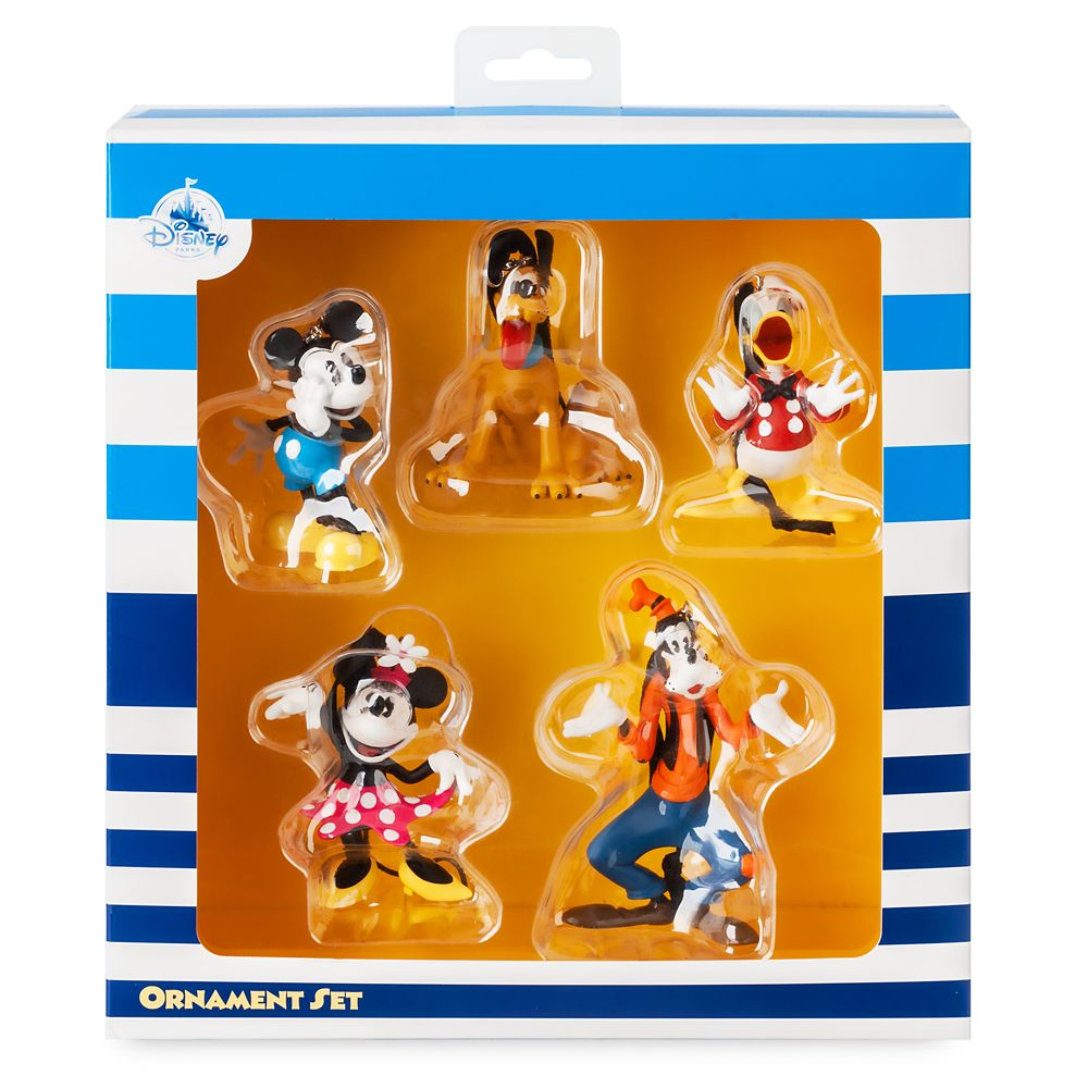 Mickey Mouse and Friends Figural Ornament Set