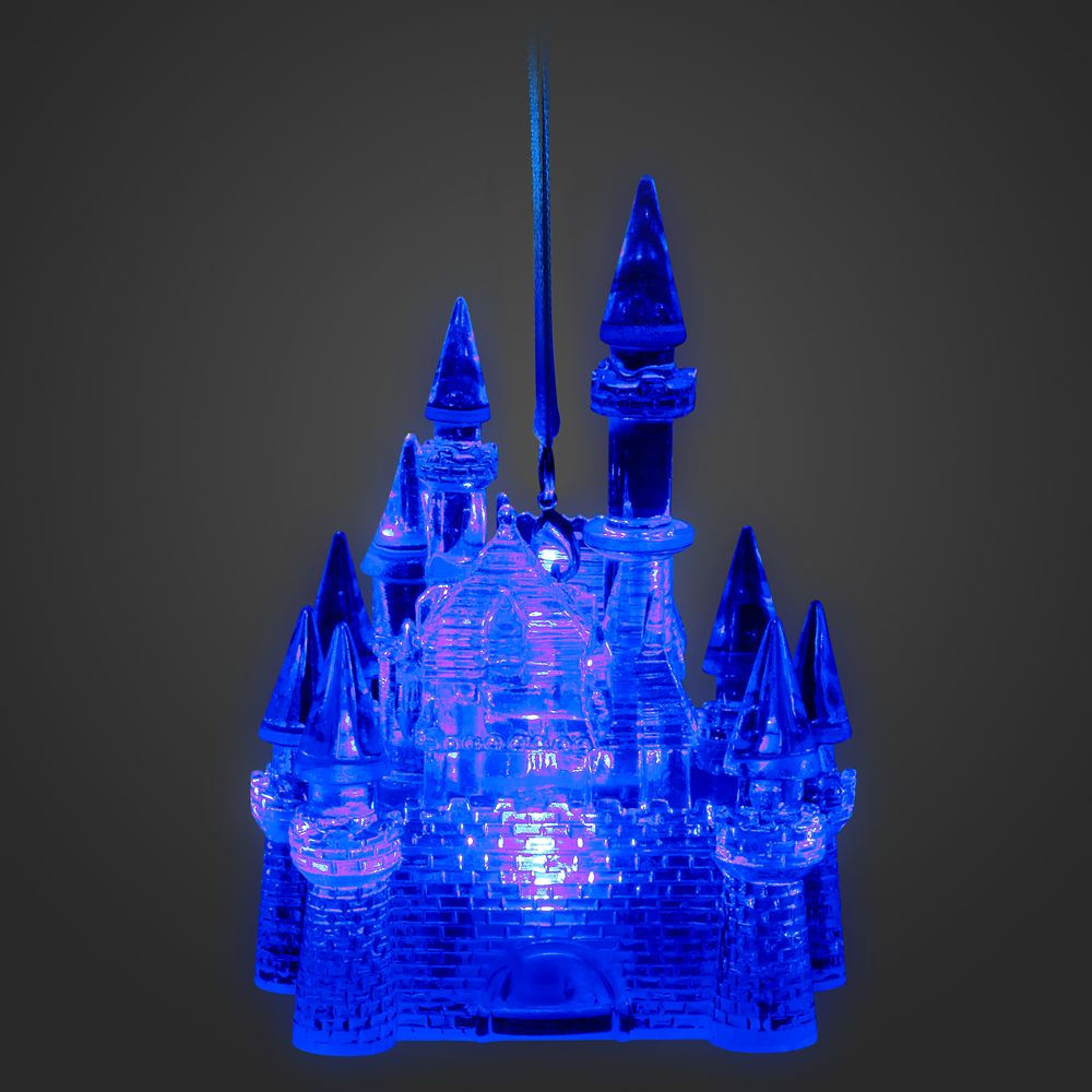 Fantasyland Castle Light-Up Ornament