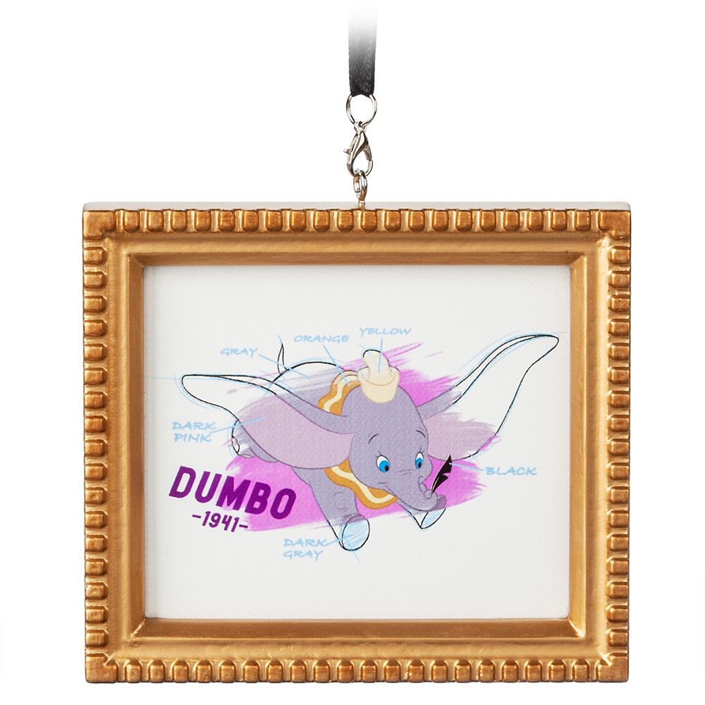 Dumbo Framed Canvas Ornament