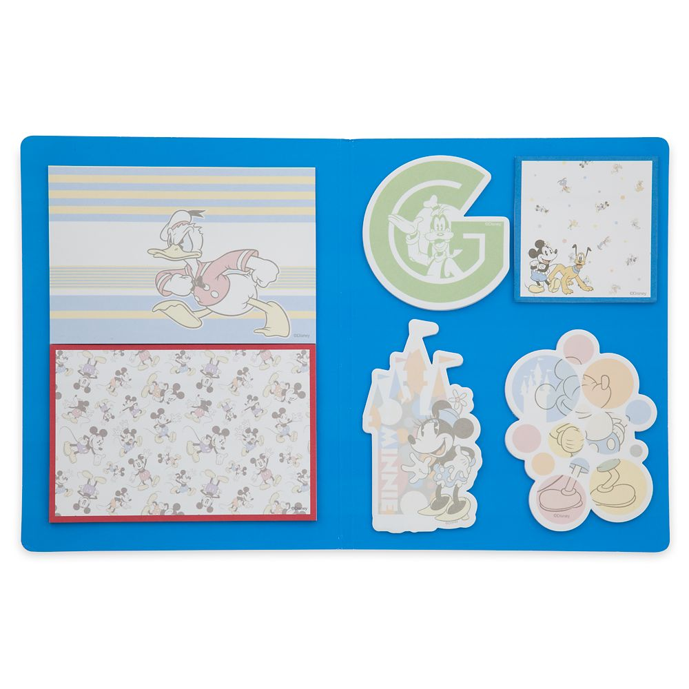 Mickey Mouse and Friends Notepad Set