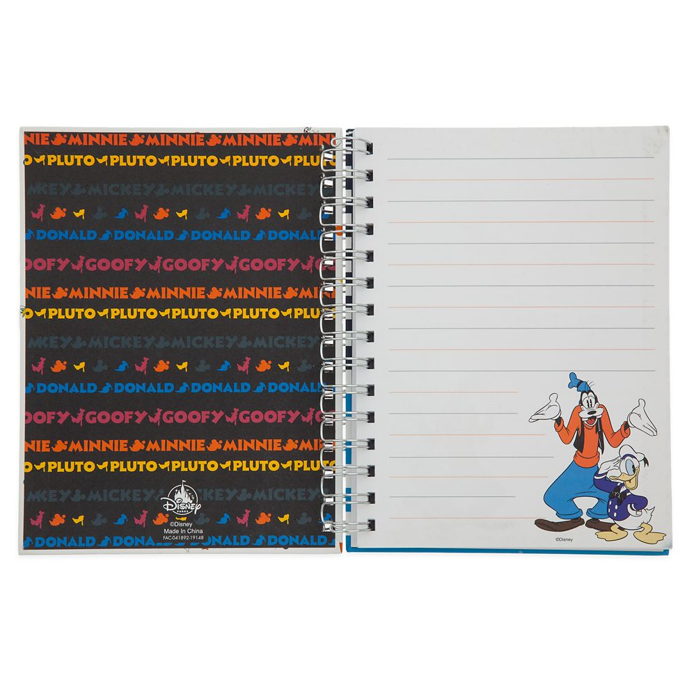 Mickey Mouse and Friends Two-Sided Journal