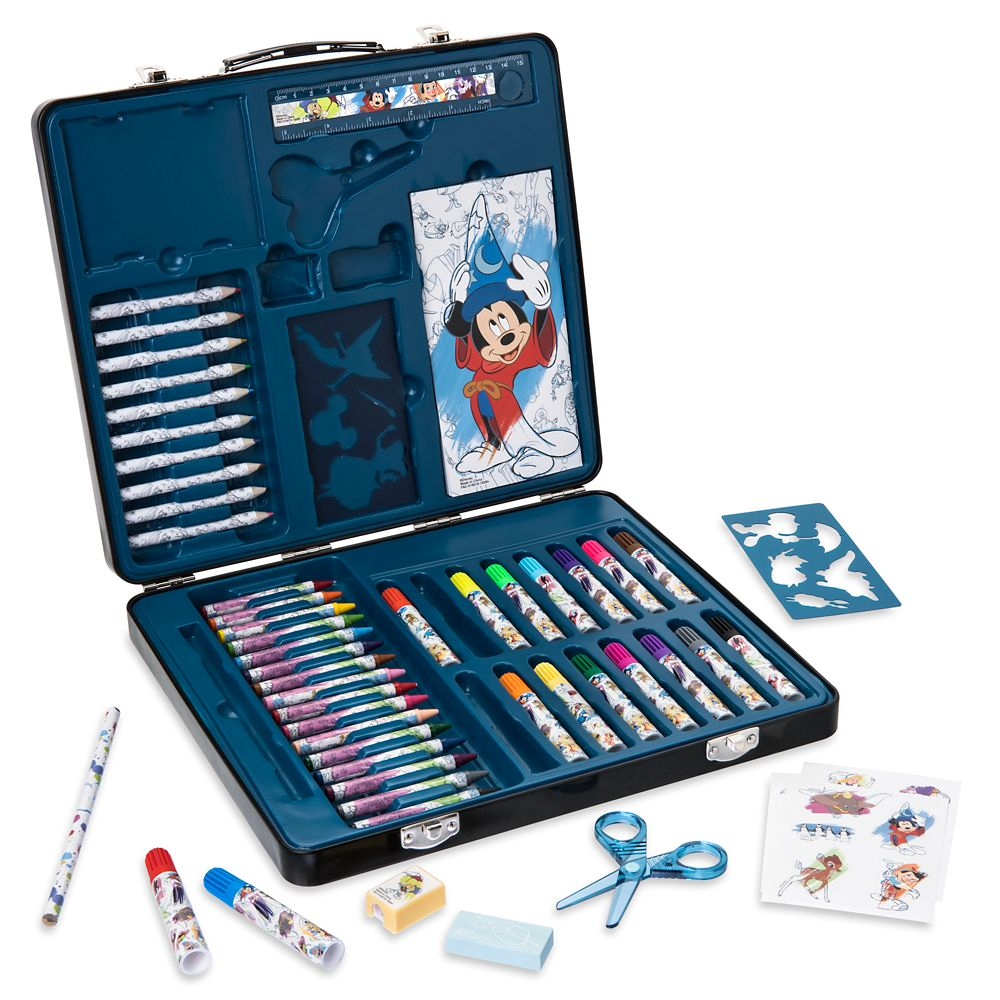 Disney Ink & Paint Tin Case Art Kit