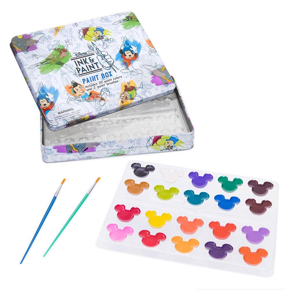 Disney Ink & Paint Watercolor Paints Set