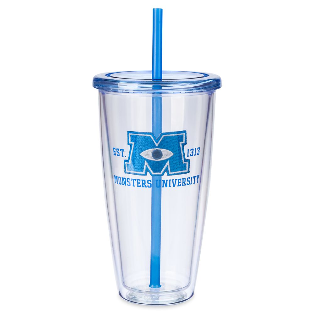 Monsters University Tumbler with Straw – Large