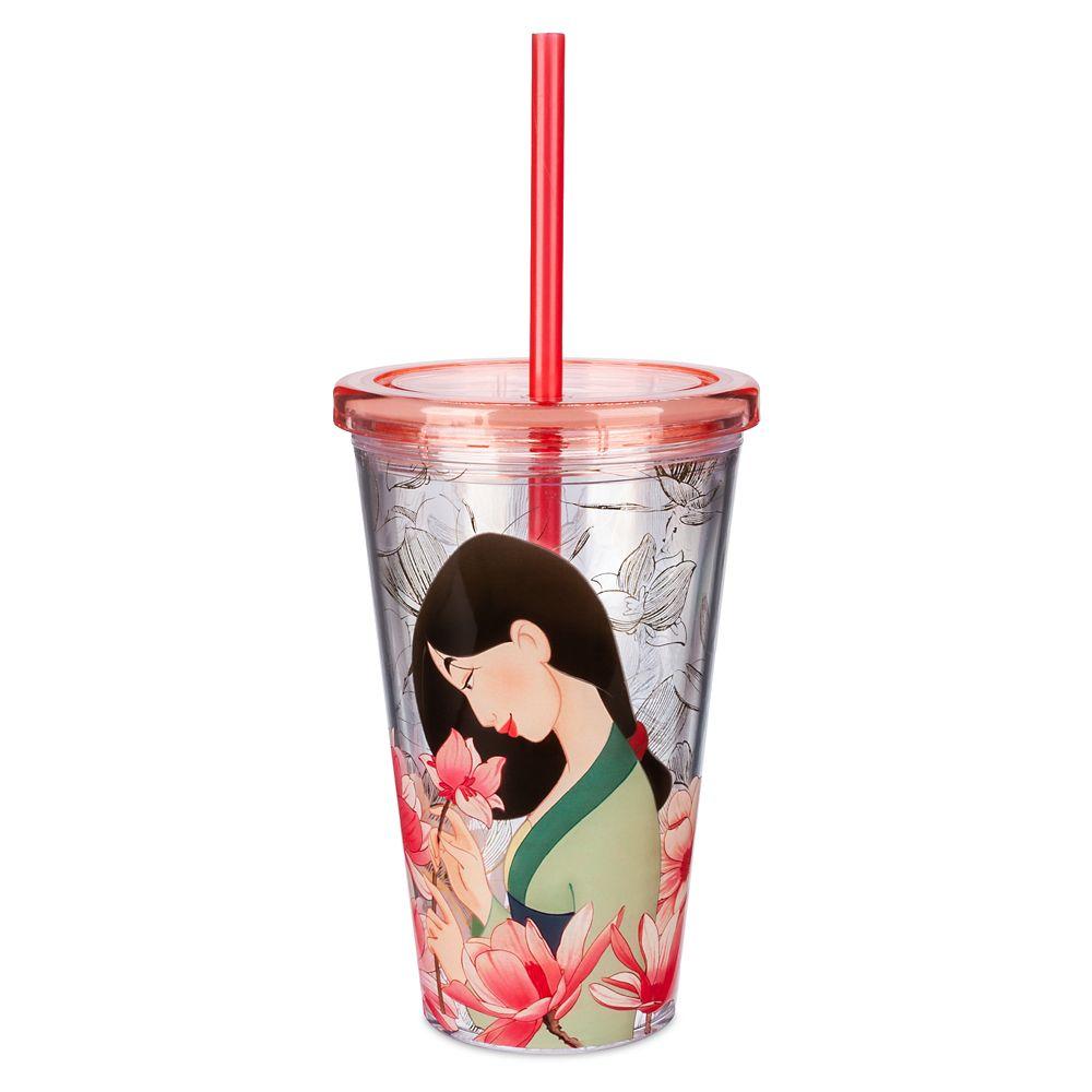 Mulan Tumbler with Straw – Medium