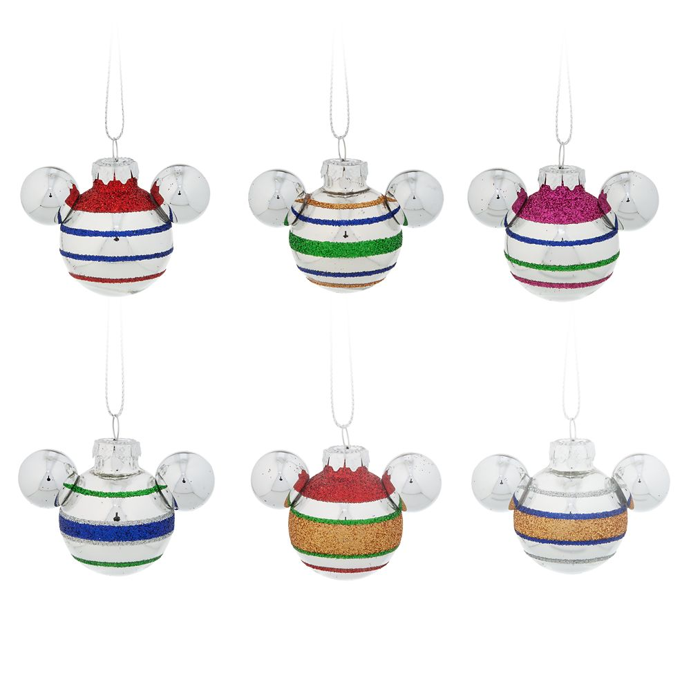 Mickey Mouse Icon Mini Ornament Set