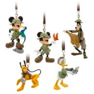 Mickey Mouse and Friends Safari Figurines Ornament Set – Disney's Animal Kingdom