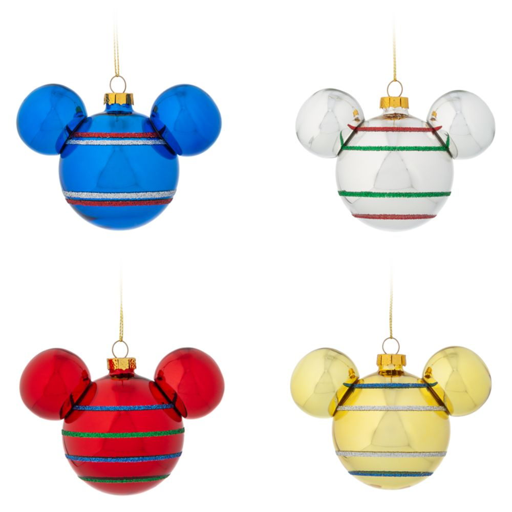Mickey Mouse Icon Ornament Set