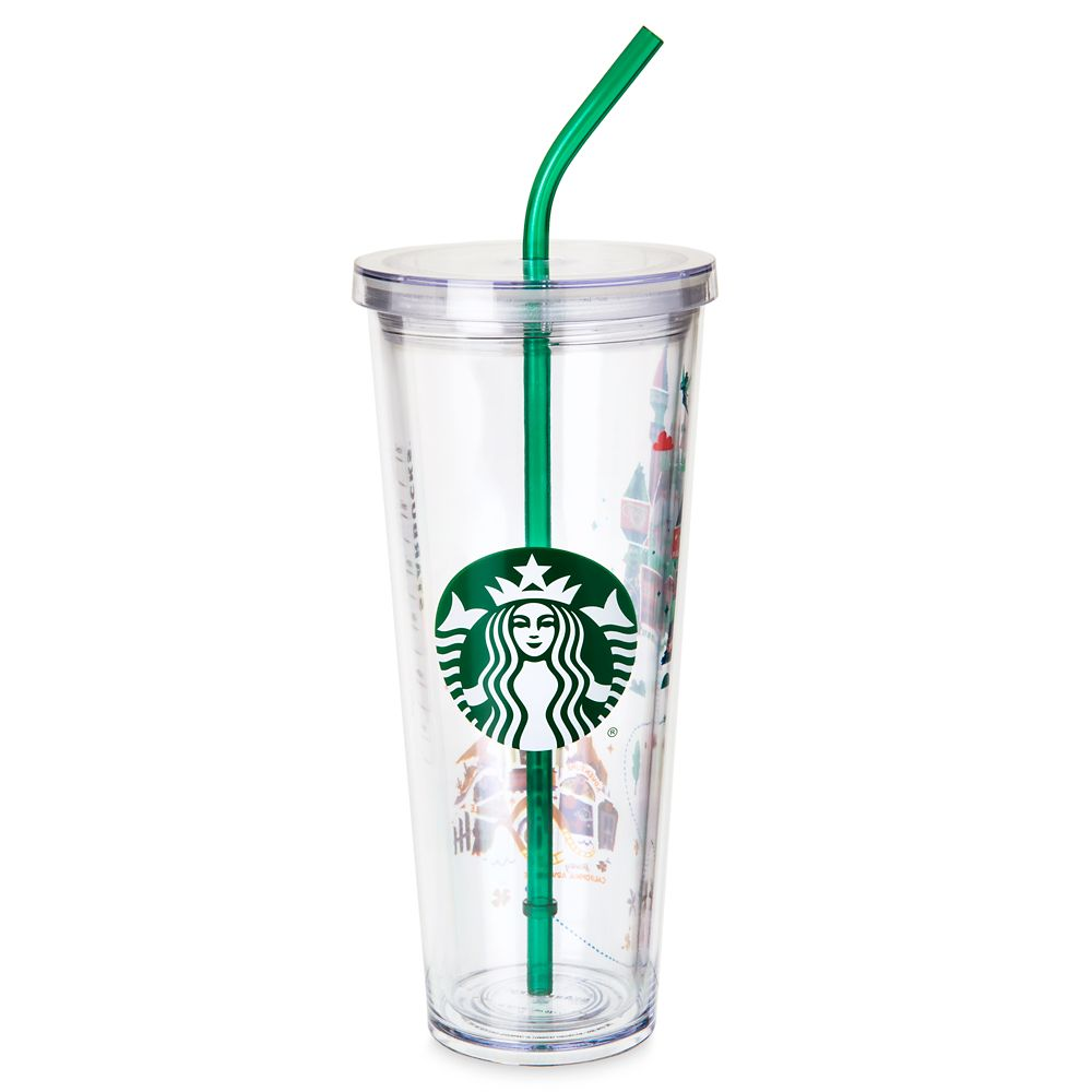 Disneyland Tumbler with Straw by Starbucks – Large