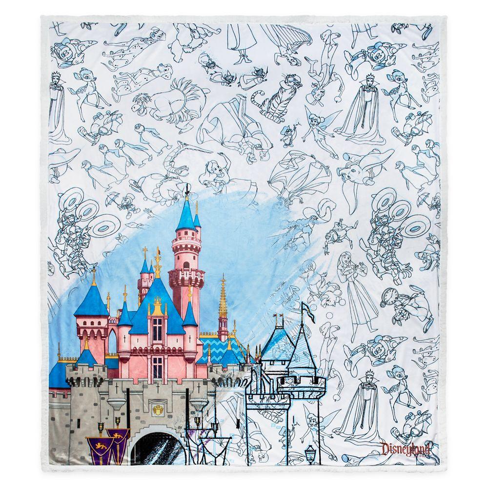 Disney Ink & Paint Throw – Disneyland