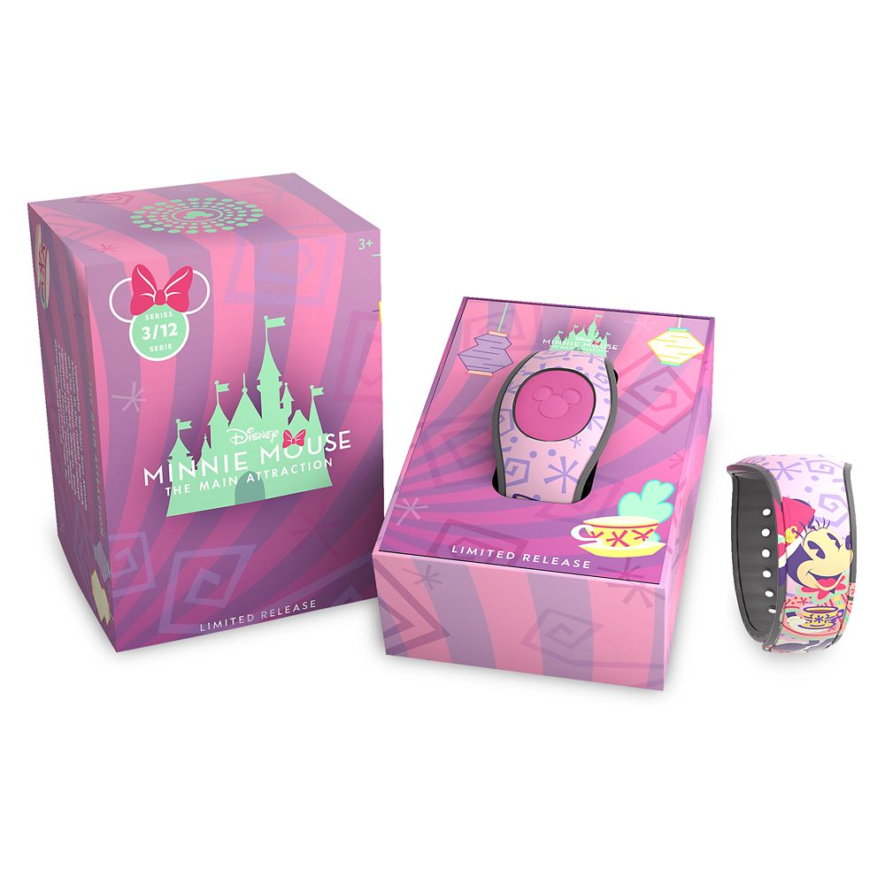 Minnie Mouse: The Main Attraction MagicBand 2 – Mad Tea Party – Limited Release
