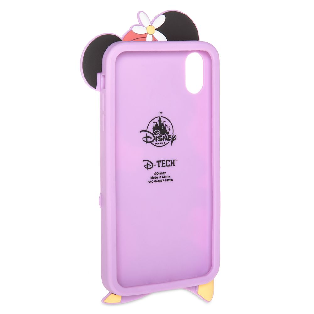 Minnie Mouse Silicone iPhone XS Max Case