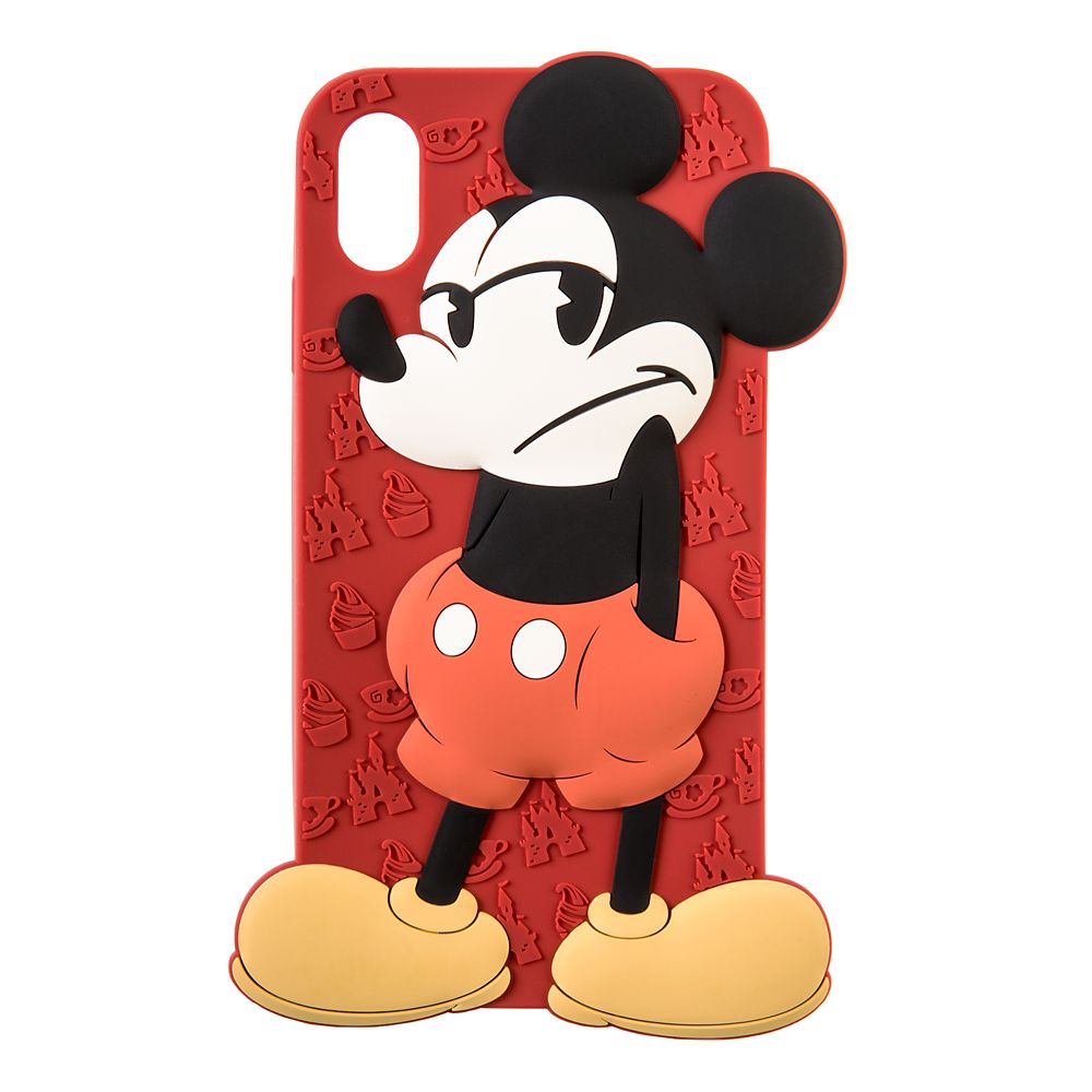 Mickey Mouse Silicone iPhone X/XS Case