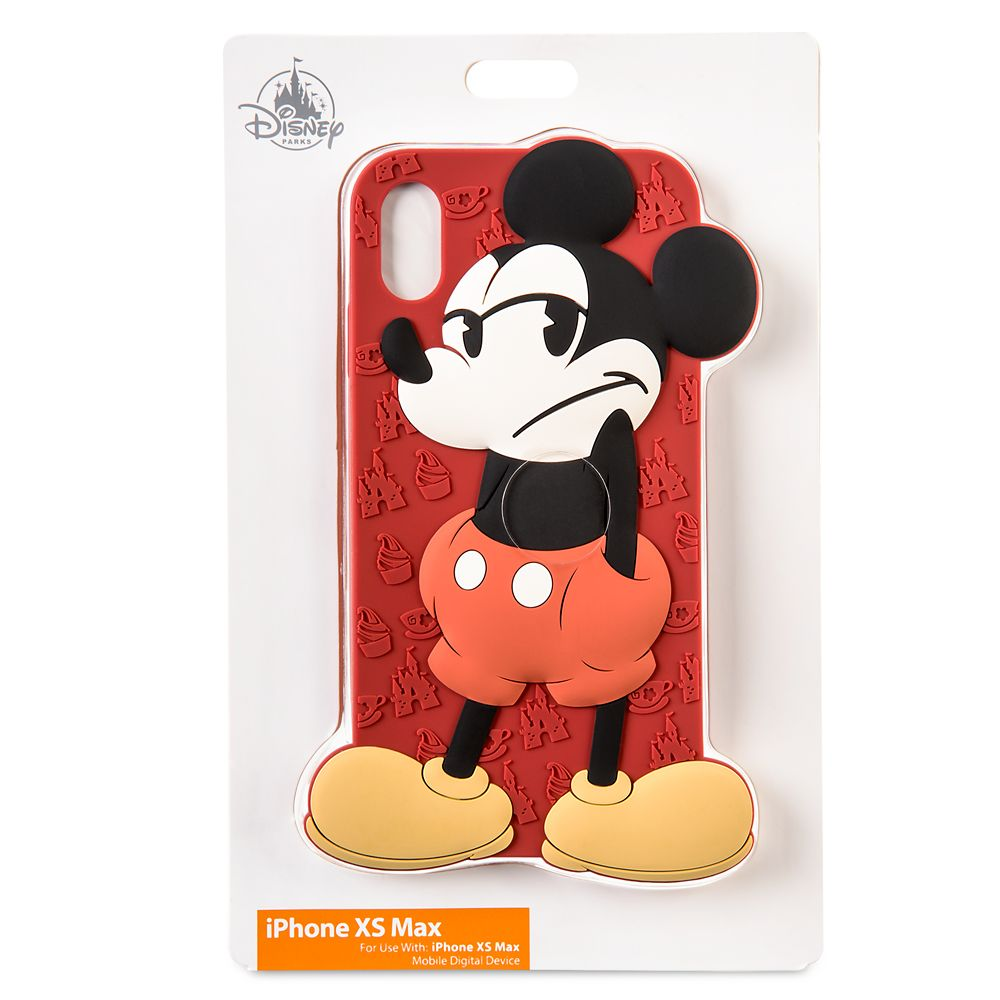 Mickey Mouse Silicone iPhone XS Max Case