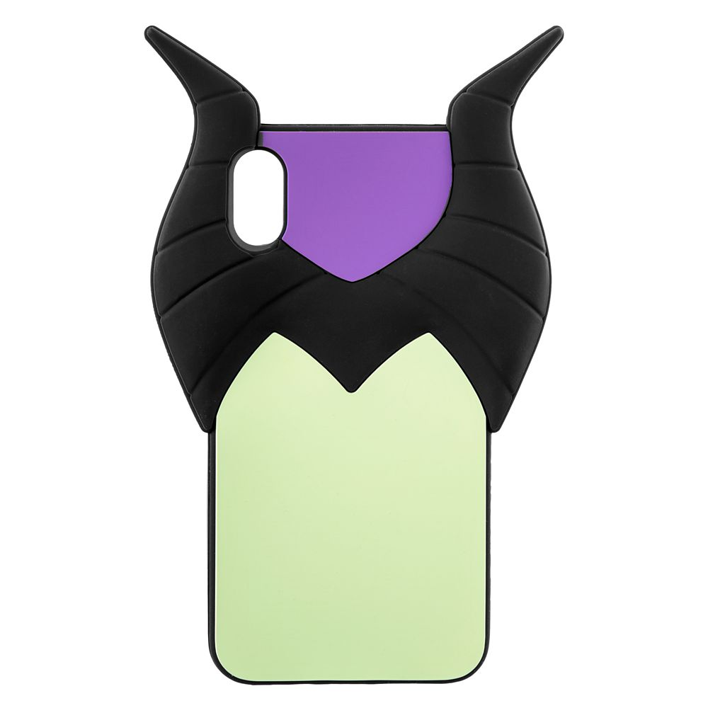 Maleficent Silicone iPhone X/XS Case