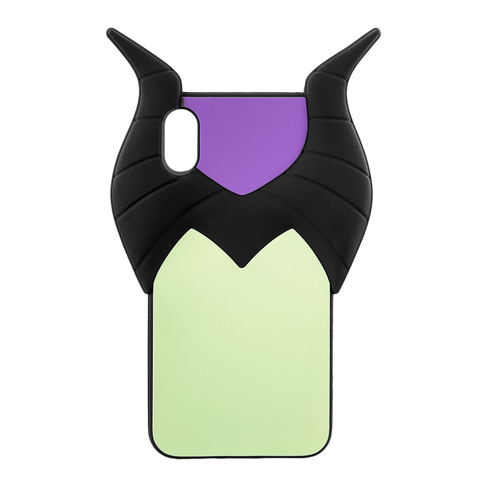 Maleficent Silicone iPhone XS Max Case