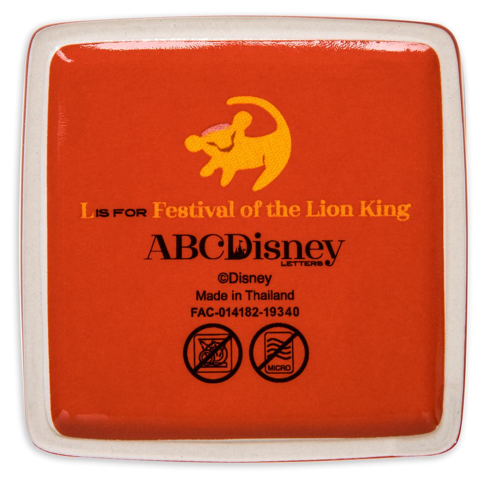 Disney Parks ABC Trinket Box – L – Walt Disney World