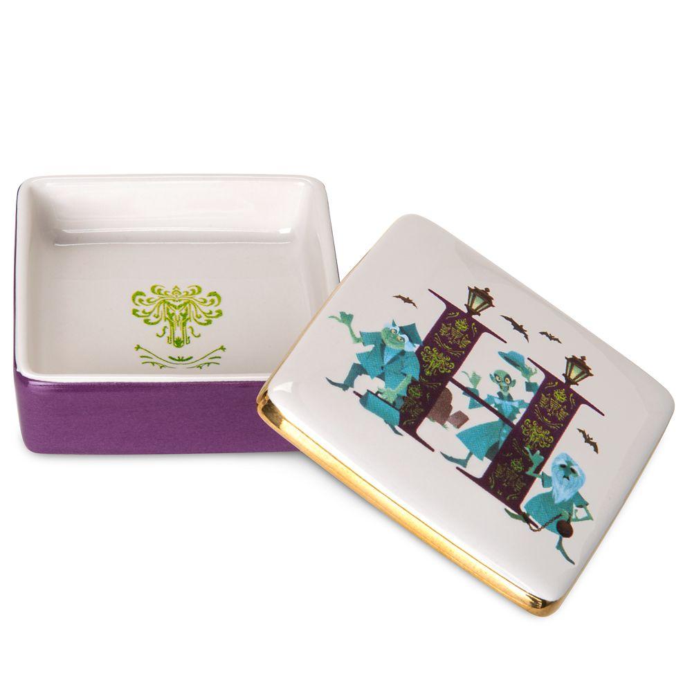 Disney Parks ABC Trinket Box – H