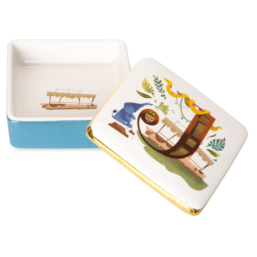 Disney Parks ABC Trinket Box – J