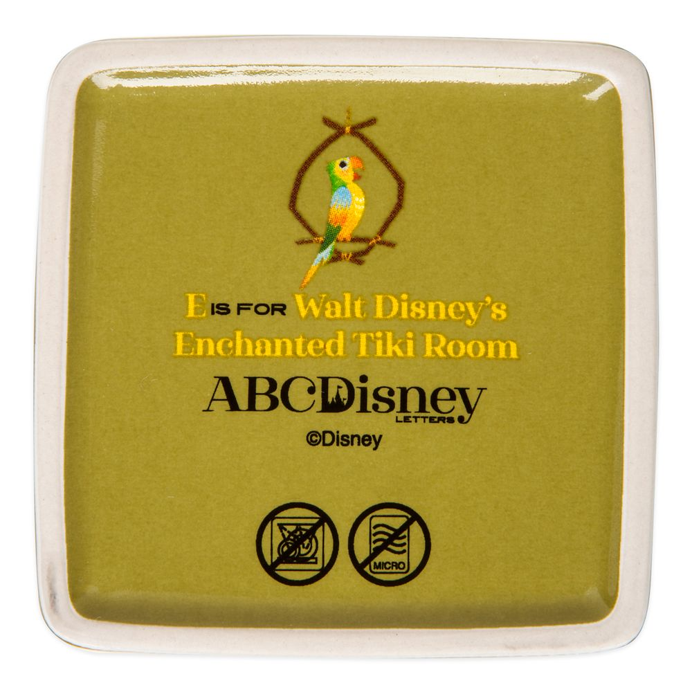 Disney Parks ABC Trinket Box – E