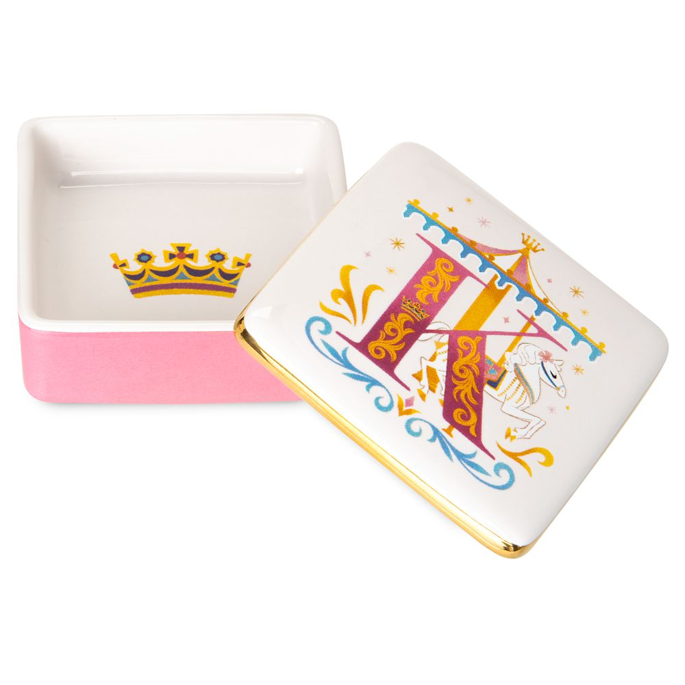 Disney Parks ABC Trinket Box – K – Disneyland