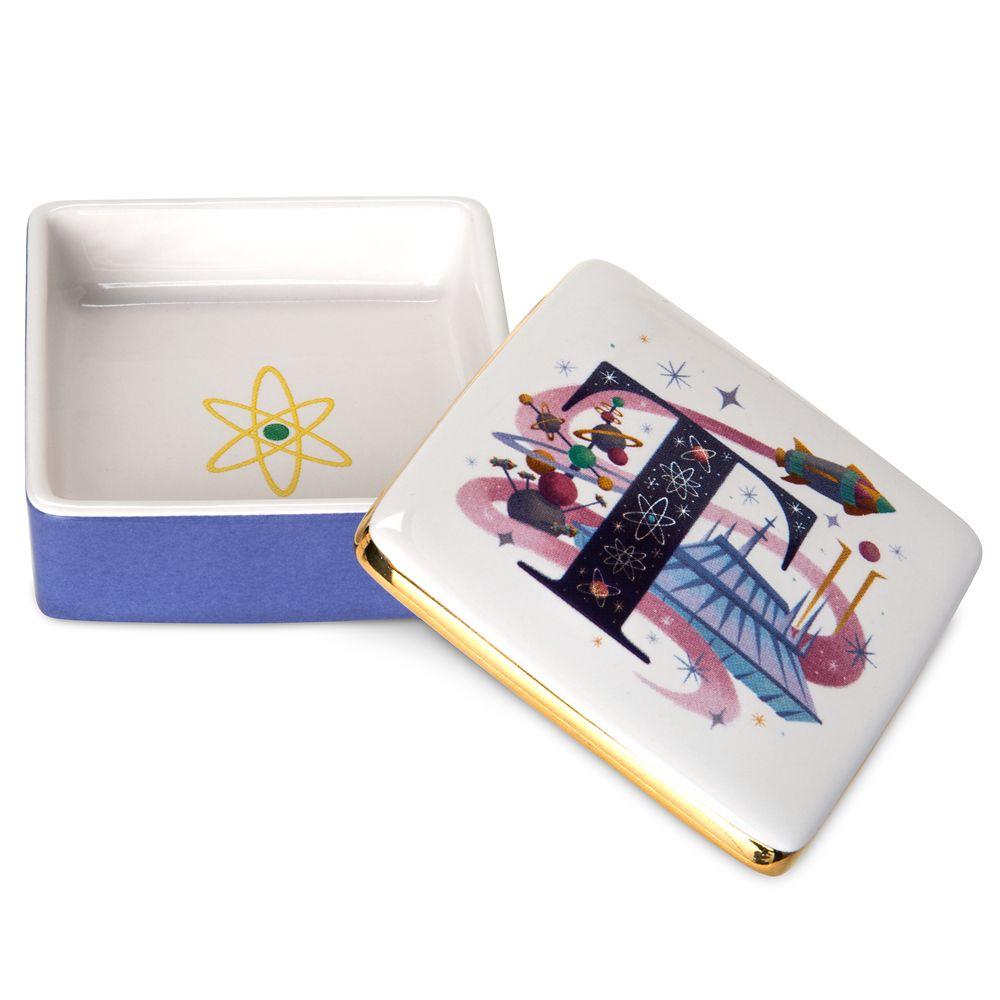 Disney Parks ABC Trinket Box – T