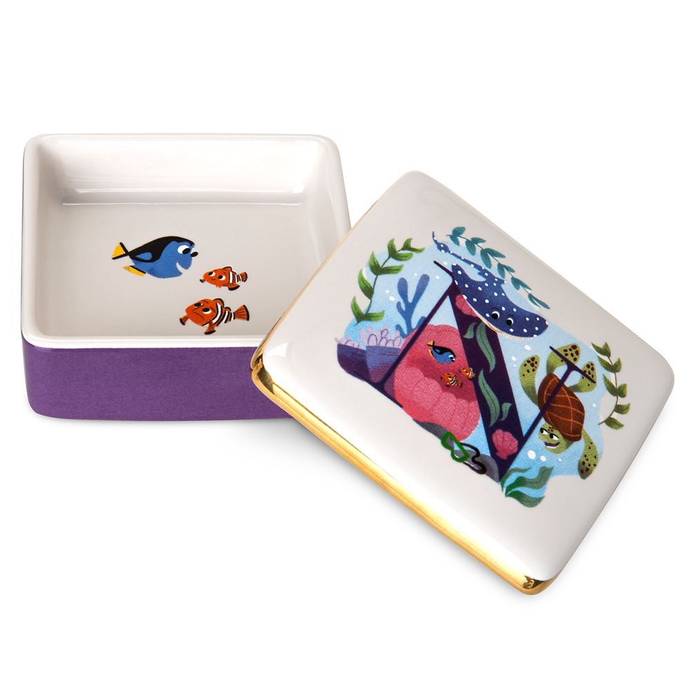 Disney Parks ABC Trinket Box – N – Walt Disney World